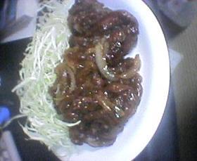 牛肉のこってりマヨ炒め☆