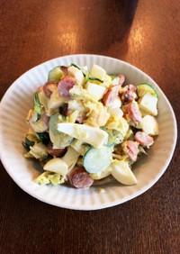キャベツと茹で卵のサラダ