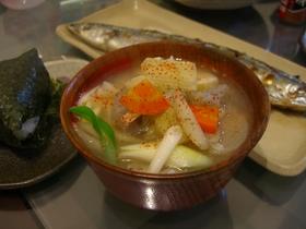 宮城(仙台)の芋煮