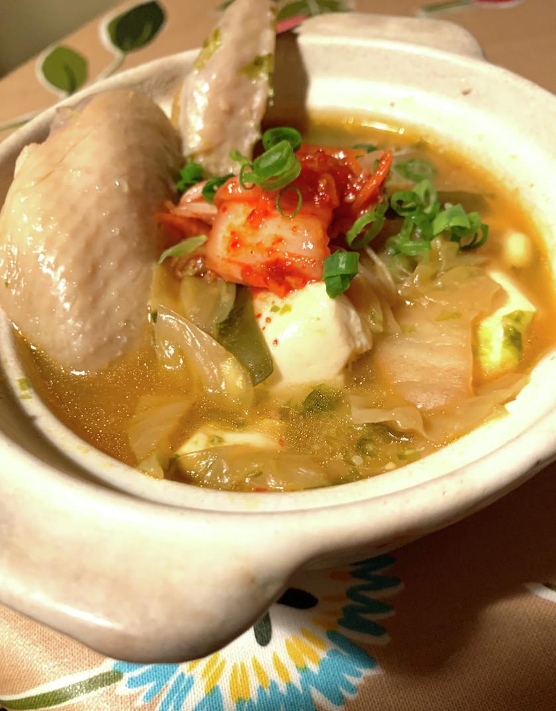 鳥手羽スープ⭐︎味噌&発酵食品で作る