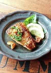 鯛のムニエル★麺つゆバターソース