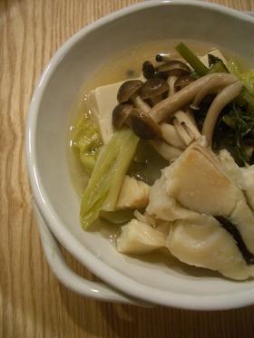 秋田の味~しょっつる鍋