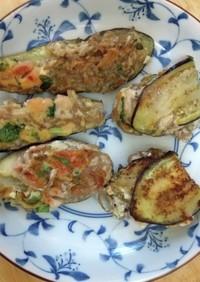 茄子&豆腐で餃子