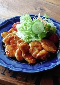 ごはんがススム★鶏むね肉の簡単チリソース