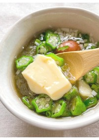 即席!卵豆腐のとろとろスープ