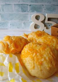 ホシノ酵母★こねない豆乳チーズプチパン