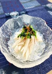 【減塩】塩麹鶏の春雨スープ 三つ葉だれ