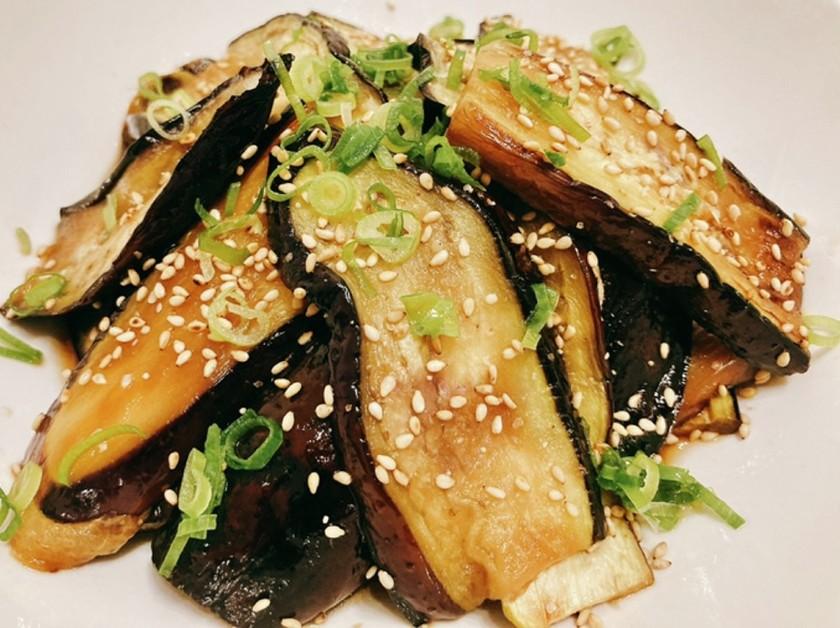 【簡単副菜】焼きナスの中華南蛮漬け
