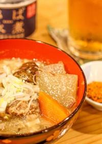 鯖缶を使ったお味噌汁