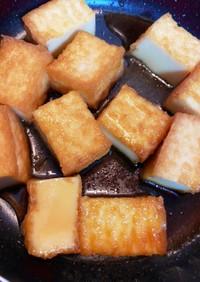 厚揚げ砂糖醤油焼き