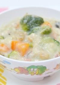 【保育園給食】マカロニのクリーム煮