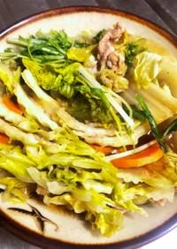 余り野菜でミルフィーユ白菜豚肉
