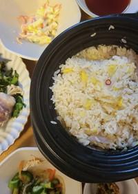 白菜の漬け物で作る炊き込みご飯
