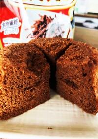 オールブラン(ショコラ)蒸しパン