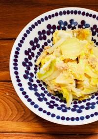 節約レシピ!白菜とツナの卵とじ