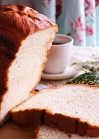 HBで簡単!クリームチーズ食パン