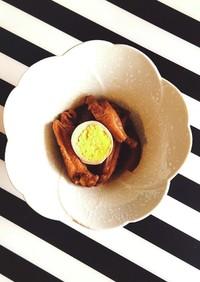 ボーンブロスの鶏手羽中と大根の簡単煮物