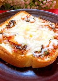 キムチ玉子チーズトースト