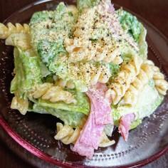 レタスとマカロニのサラダ♪