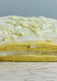 アーモンドと蜂蜜のケーキ