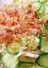 シャキシャキ白菜の和風わさびサラダ