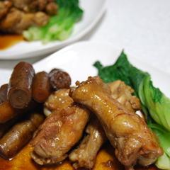 鶏手羽元とごぼうのテンメンジャン煮