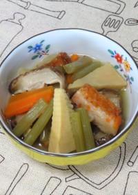 低コレステロール@ふき&さつま揚げの煮物