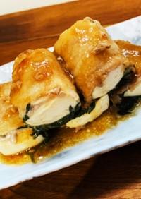 豆腐と大葉の豚バラ巻き♡