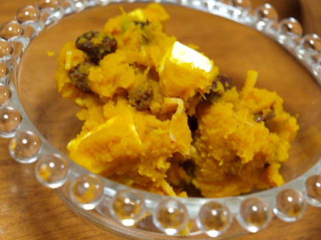 かぼちゃ レーズン サラダ