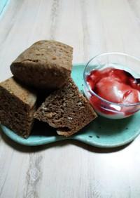 タンパク質20g!オートミール蒸しパン