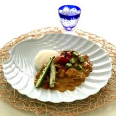 簡単♡夏野菜のココナッツミルクカレー