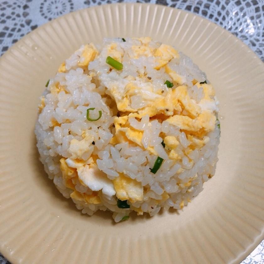 5分で作る卵チャーハン