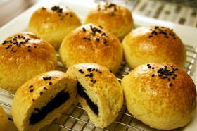 ホットケーキミックスで簡単あんパン