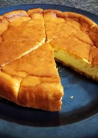 濃厚で簡単!ベイクドチーズケーキ☆