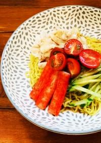 簡単手作りタレの冷やし中華♡