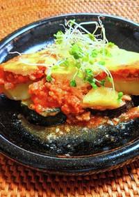 夏野菜のヨーグルトムサカ