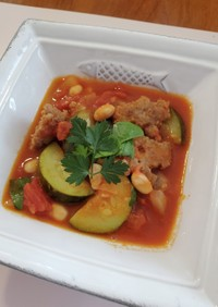 簡単手作りサルシッチャの食べるスープ