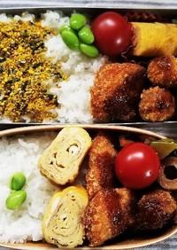 鮭フライ&カツ弁当(5.31)