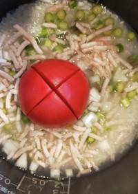 トマト炊き込みご飯【離乳食後期・完了期】