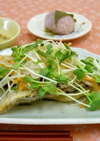 鯵の唐揚げ野菜のせ(透析食)