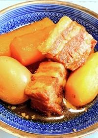 みんな大好き豚バラ大根煮卵煮込み