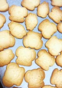 ザクザクおいしい型抜きクッキー