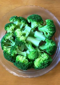 簡単!栄養満点ブロッコリーの茹で方