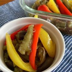 【副菜】レンジで簡単!夏野菜の煮びたし