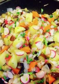 珍『闇カレー』 冷蔵庫余り野菜