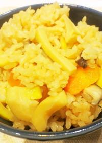 ☆旬の味、タケノコご飯