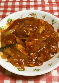 ささみと玉葱メイントマト風味ハヤシカレー