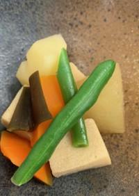 高野豆腐と根菜の煮物