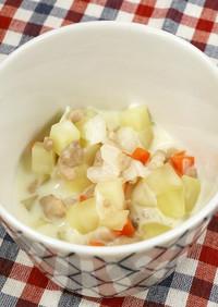 【離乳完了期】鶏肉のクリームシチュー