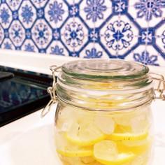 さっぱりレモンシロップ